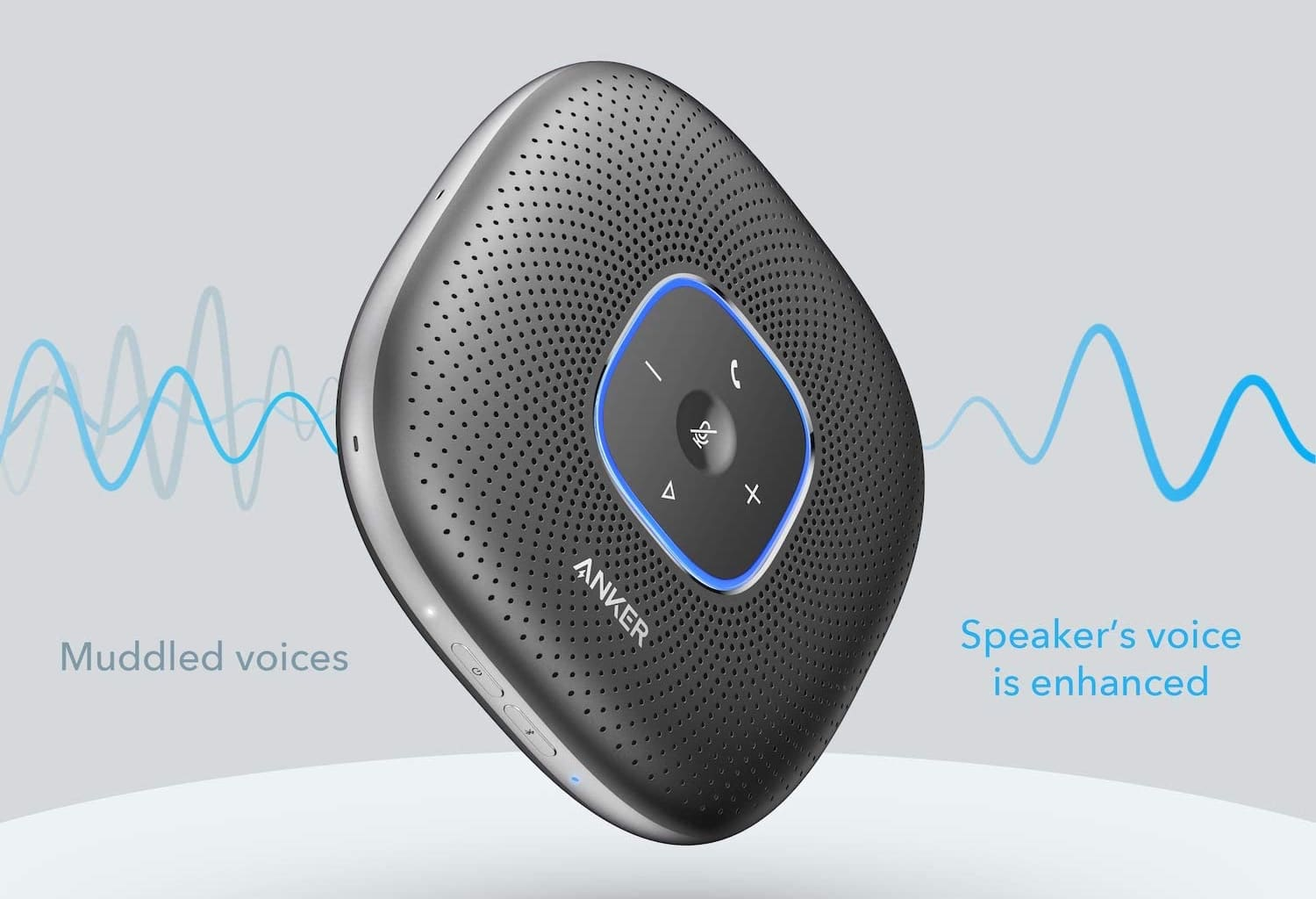 Anker PowerConf Speakerphone Upgrades Your Conference Call On Laptop or Smartphone Like Never Before!