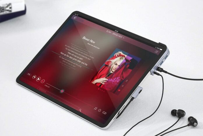 Baseus 6-in-1 Adapter for iPad Pro-min