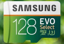 EVO Select 128GB microSDXC