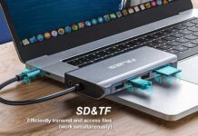 Falwedi Triple Display 12 in 1 USB C Hub-min