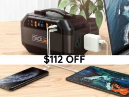 TACKLIFE 299Wh Portable Power Station