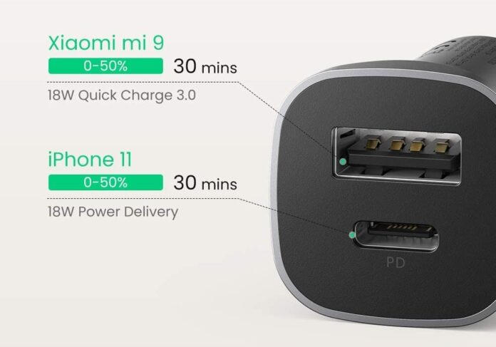 UGREEN PD Fast Car Charger-min (1)