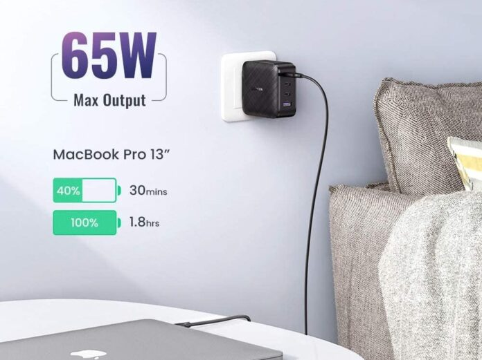 _UGREEN USB C Charger 65W 4-Port PD Charger-min