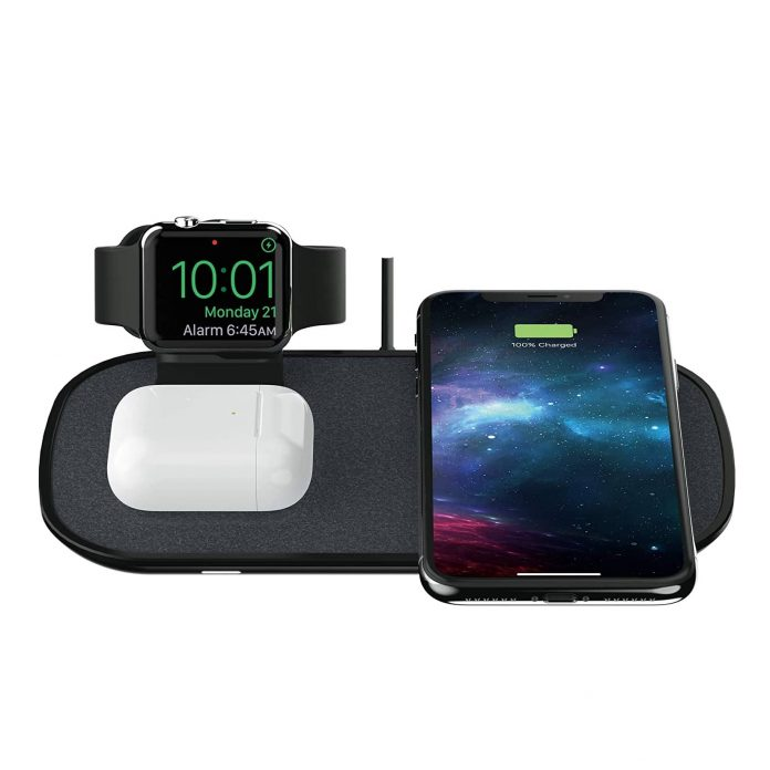 mophie 3 in 1 Wireless Charge Pad-min