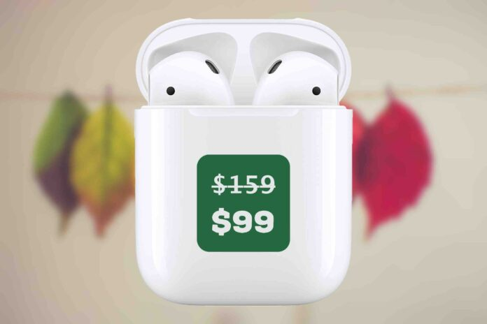 AirPods 2 deal 99