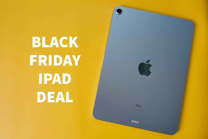 BLACK FRIDAY IPAD DEAL