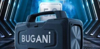 BUGANI M118 Portable Bluetooth Speakers
