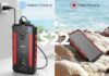 Feeke 30000mAh Solar Power Bank