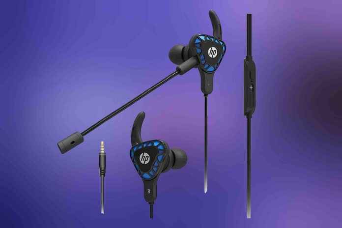 HP Gaming Earbuds with mic