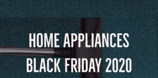 Home Appliances Black Friday 2020