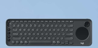 Logitech K600 TV - TV Keyboard with Integrated Touchpad