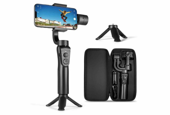 3-Axis Gimbal Stabilizer for iPhone 12