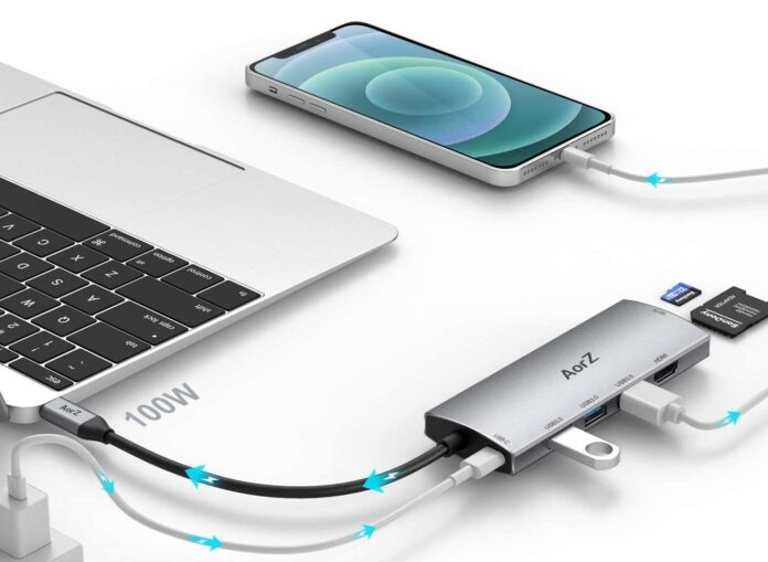 AorZ USB C Dongle Adapter