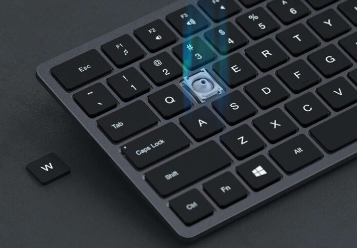 Backlit Wireless Keyboard