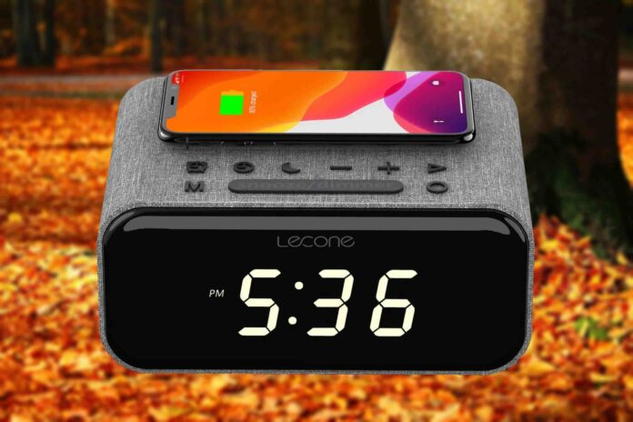 Lecone Wireless Bedside Charging Station