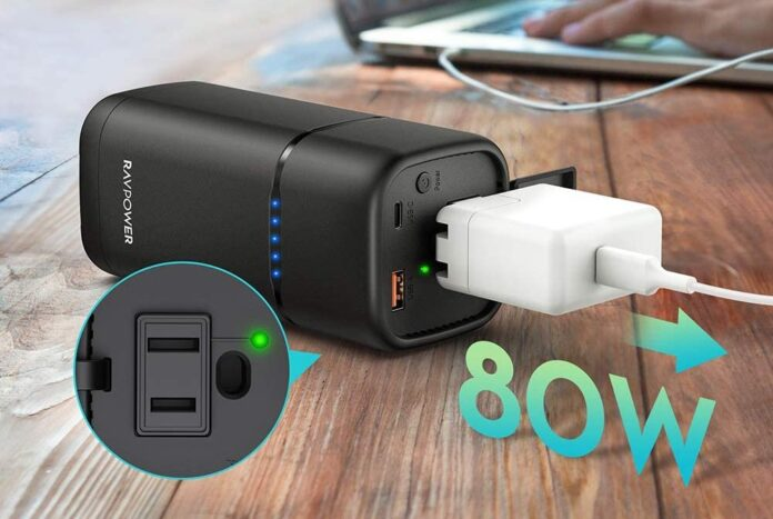 RAVPower 80W AC Outlet Power Bank