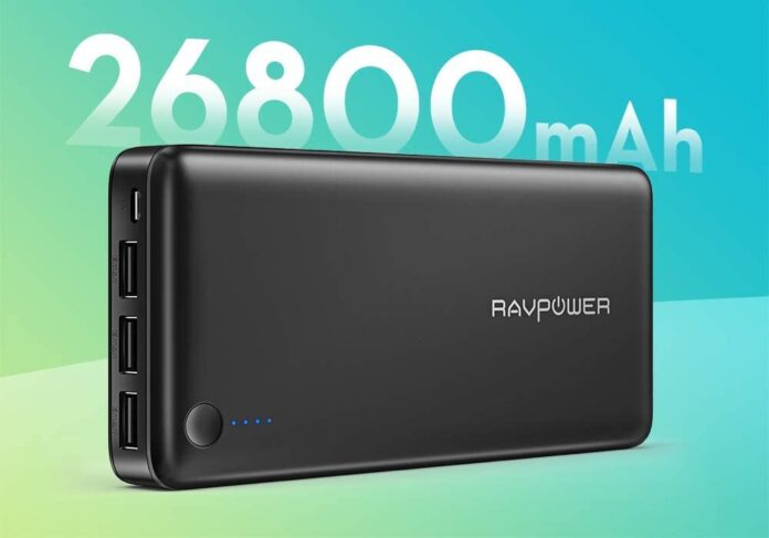 RAVPower Capacity 26800mAh Internal Battery Power Bank