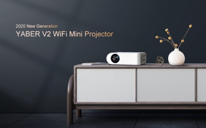 YABER V2 WiFi Mini Projector