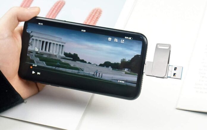 256GB Photo Stick for iPhone