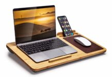 Bamboo Lap Desk for Laptop