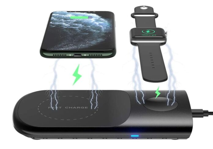 HoRiMe 3 in 1 Wireless Charging Pad