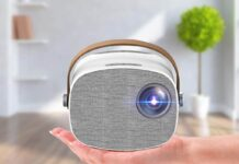Lejiada Portable Projector