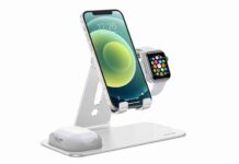 OMOTON Adjustable Apple Watch Stand