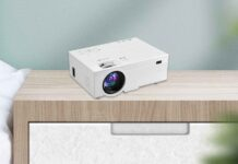 OSEVEN Wireless Projector
