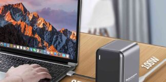 USB C Docking Station Dual Monitor for MacBook Pro