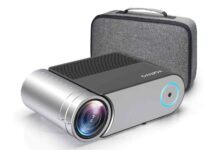 Vamvo L4200 Portable Video Projector