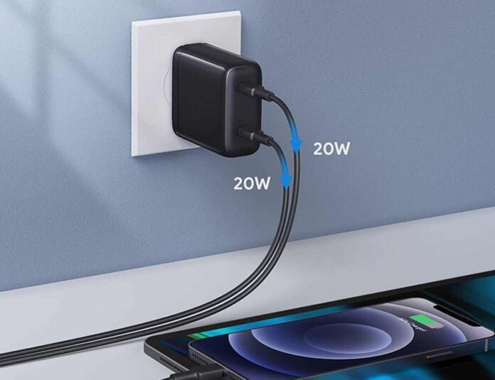 WEMISS 40W iPhone Fast Charger