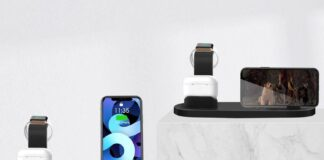 Wireless Charger 4 in 1 Charging Dock