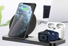 Wireless Charger Stand 3 in 1