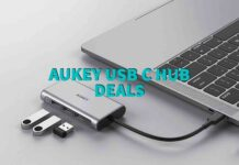 AUKEY USB C HUB DEALS