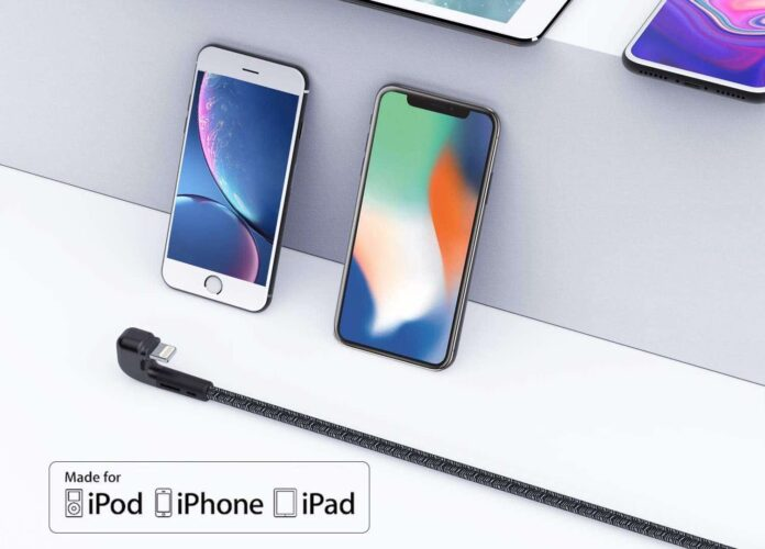 Better Design 90 Degree iPhone Charger