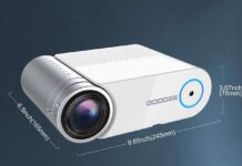 GooDee 2021 Upgrade G500 Mini Video Projector