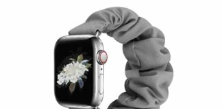 JIELIELE Compatible with Scrunchie Apple Watch Band