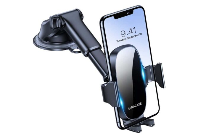 Miracase 4-in-1 Cell Phone Holder for Car