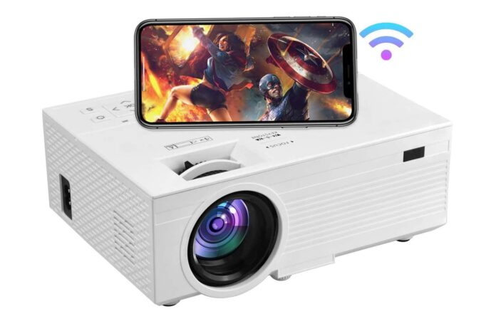 OSEVEN Mini Projector for iPhone
