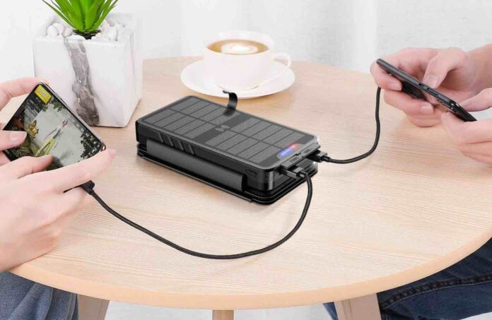 Solar Charger 35800mAh Solar Power Bank