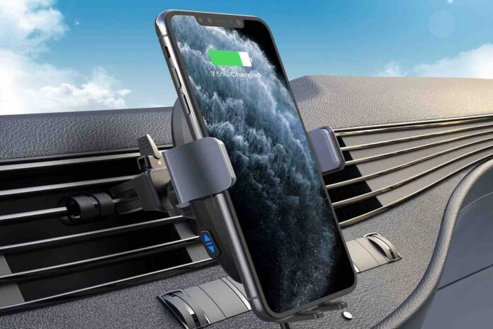 VANMASS 15W Wireless Car Charger Mount
