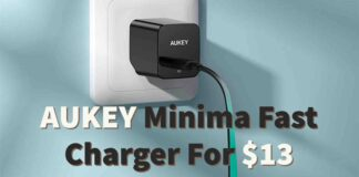 AUKEY Minima Fast Charger