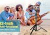 Aureday Camera & Cell Phone Tripod Stand