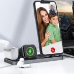 CEREECOO Portable 3 in 1 Charging Station