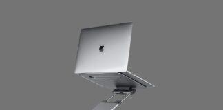 Ergonomic Laptop stand for desk