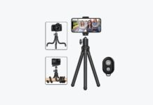 Erlingpowht Smartphone Tripod Stand