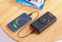 JIGA Wireless Power Bank 30000mAh
