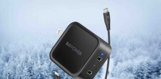 RAVPower 65W Fast Wall Charger