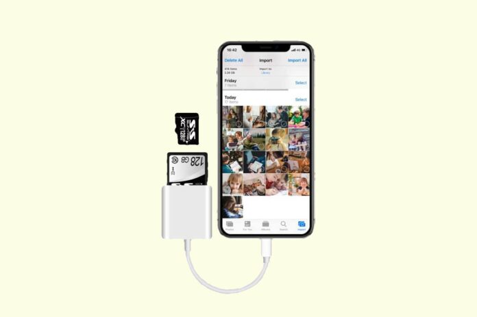 Sd Card Reader for iPhone and iPad