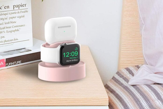 Sokusin Charger Stand for Apple Watch & AirPods